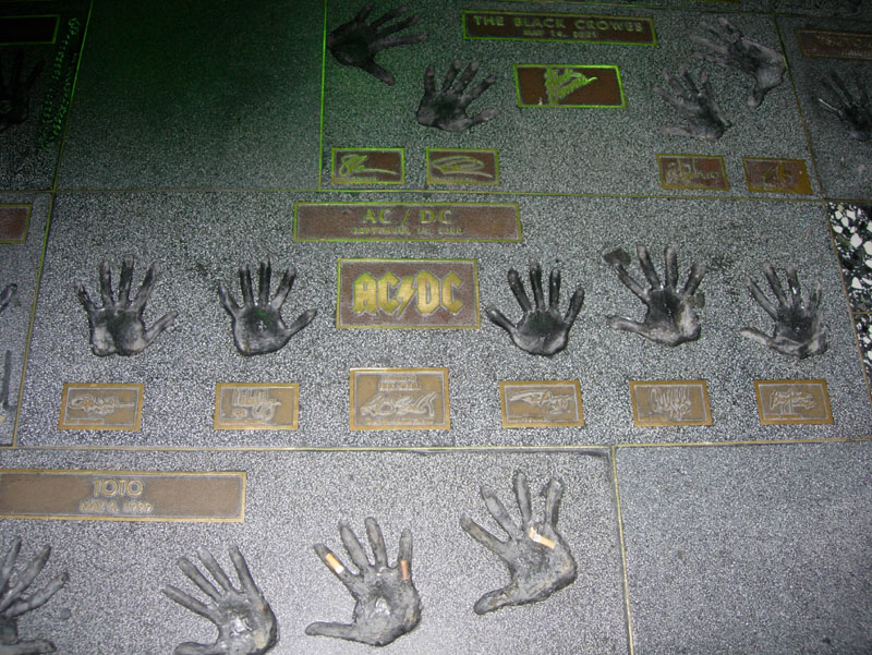 08-ACDC on walk of fame